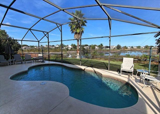 Luxury Villa 4 Bed/ 3 Bath & Gamesroom (Magnolia7974s) 3 Miles From Disney! - Image 1 - Kissimmee - rentals