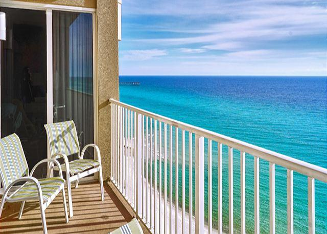 Beachfront for 8! 10th Floor with Views! Open 3/28-4/3 - Image 1 - Panama City Beach - rentals