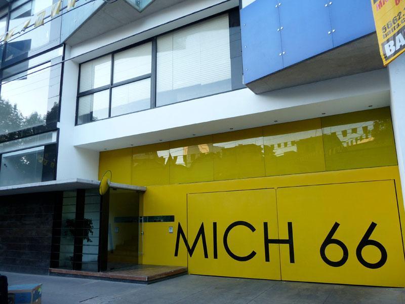 Main Entrance (exterior) - Modern apartment- Heart of Condesa - Mexico City - rentals