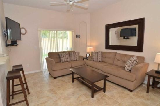 Luxury 4 Bedroom 3 Bathroom Town Home in Regal Palms Resort and Spa - Image 1 - Orlando - rentals