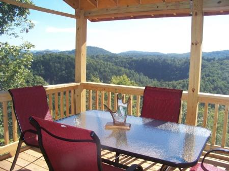 Porch deck - Angler's View - Austinville - rentals