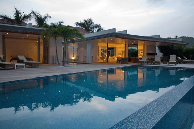 STB - WIC6 - New wonderful large villa - Image 1 - Gustavia - rentals