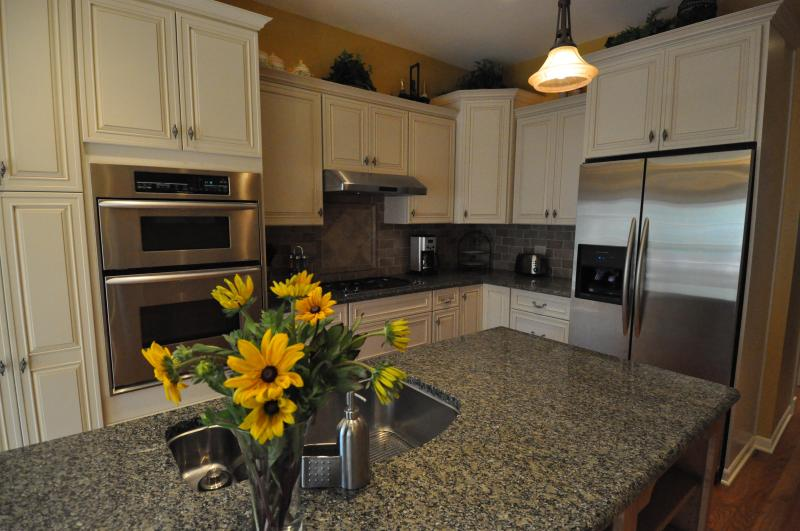 View of Gourmet Kitchen - Roscoe Village- Steps Away to Cute Shops & Dining - Chicago - rentals