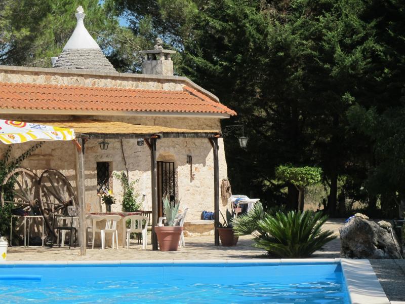 Trullo in Villa Rental: pool and organic garden - Image 1 - Ceglie Messapica - rentals