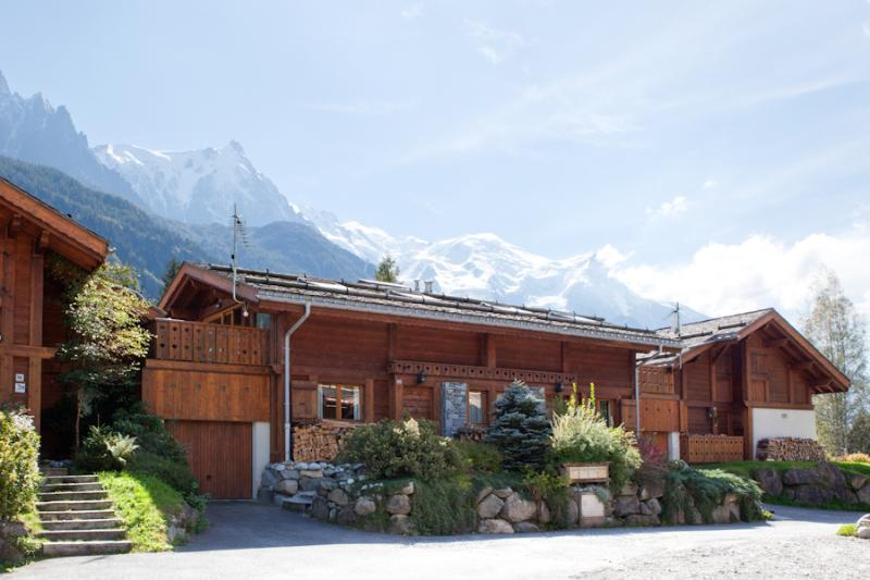 View from the front of the chalet - Chamonix Chalets - Les Praz-de-Chamonix - rentals