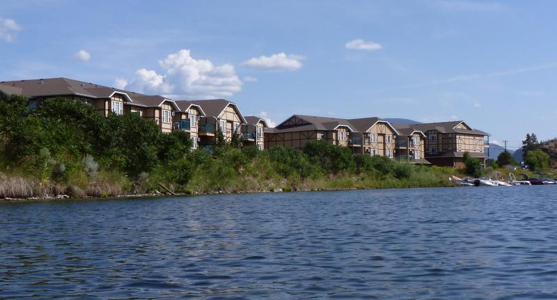 From the river - South Okanagan Waterfront Condos - Okanagan Falls - rentals