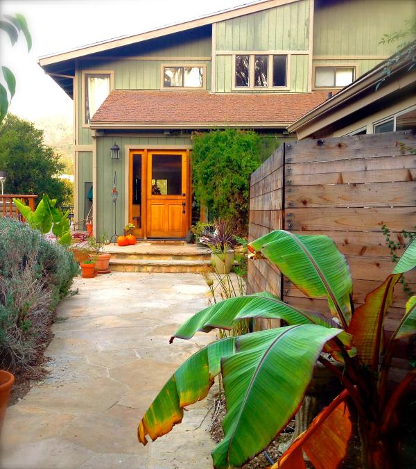 Welcome! Come up the long driveway and walk down the the entrance path to your home in Santa Barbara. - *Sunny Tranquil Montecito Retreat - Santa Barbara - rentals