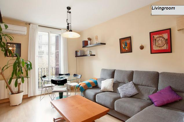 ONA - City Center in the Eixample quarter, free internet and free wifi, parking - Image 1 - Barcelona - rentals