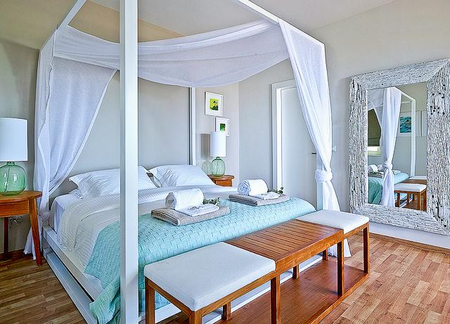 Bedroom - Luxury Villa with Modern Design and Private Pool - Drapanos - rentals