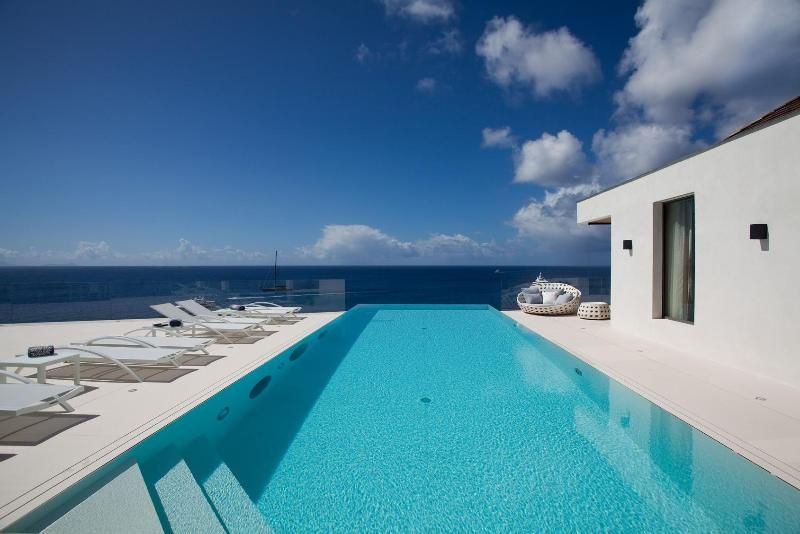 Vitti at Shell Beach, St. Barth - Ocean View, Private Access to Shell Beach, Contemporary and Chic - Image 1 - Gustavia - rentals