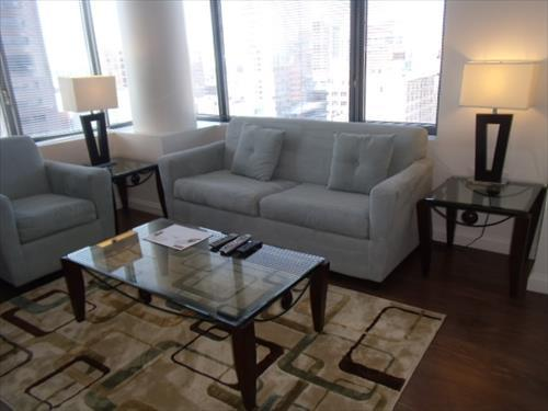 Living Room - Lux Downtown Boston 2BR Apt w/pool - Boston - rentals