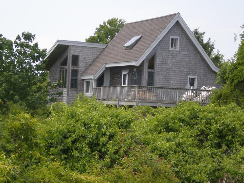 Exterior View of this Upside Down House - Family Vacation Home Overlooking Nauset Beach - East Orleans - rentals