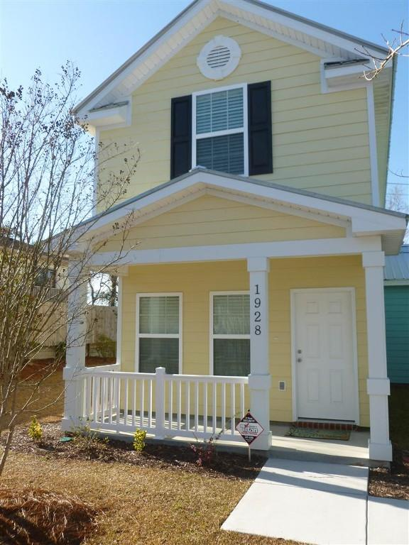 Front door - Affordable and Brand New 2 Bedroom Townhouse with Pool, Just Steps to Beach - Myrtle Beach - rentals