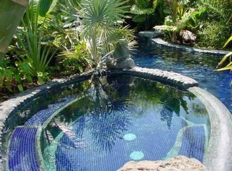 Hot tub seats 12 and 70ft pool features 2 waterfalls and kids pond - Luxury Oceanfront Estate overlooking Keauhou Bay! - Keauhou - rentals