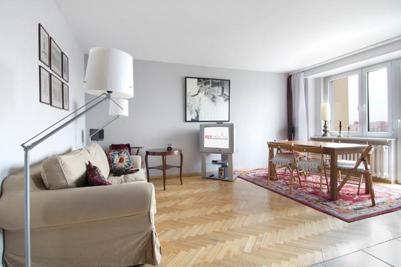 2 bedroom apartment next to metro! Służew - Image 1 - Warsaw - rentals