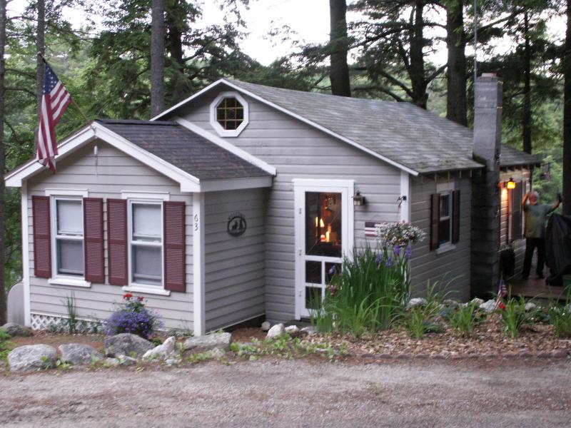 cabin front - Peaceful Waterfront Hideaway in the Mountains - Sunapee - rentals