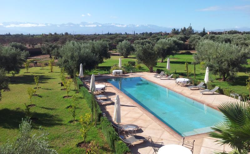 swimming pool view Atlas - MARRAKECH AFRICAN QUEEN - Marrakech - rentals