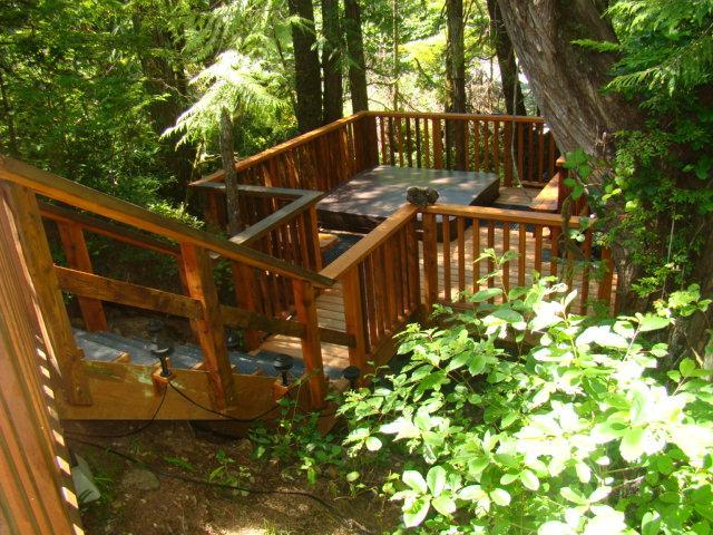 Split level - Forest View Cabin Private Hottub next to Cox Bay - Tofino - rentals