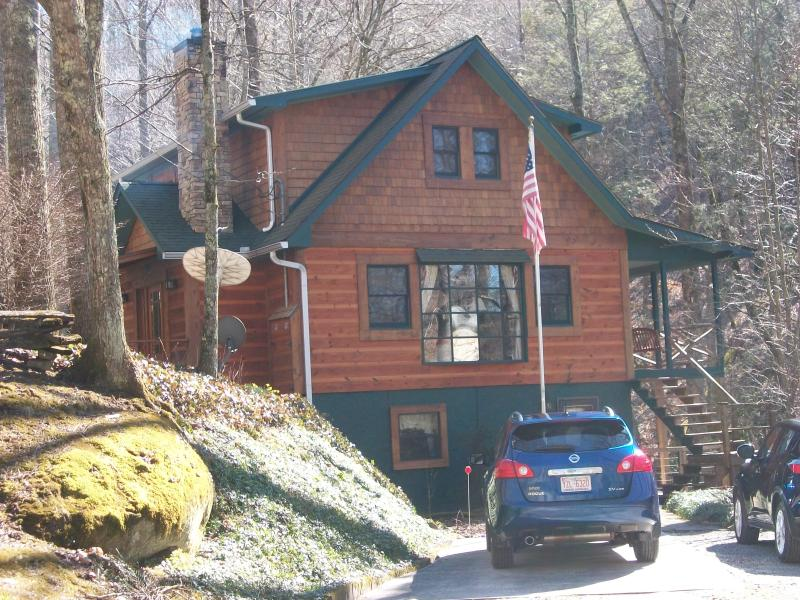 our house - Creekside Apartment near Highlands NC - Highlands - rentals