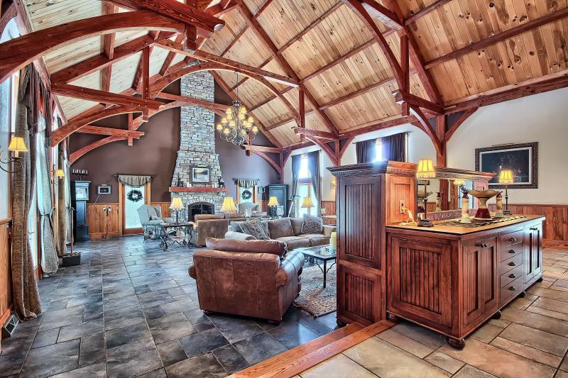 Hocking Hills Luxury  Lodge . Experience the Best - Image 1 - Logan - rentals