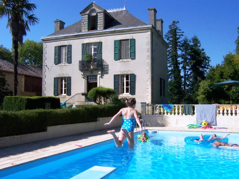 House and swimming pool - Villa Leon B&B: beautiful house in rural SW France - Sainte-Dode - rentals