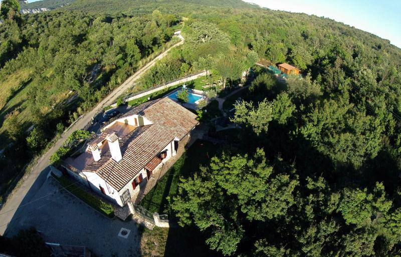 House from the air - PERFECT FOR FAMILIES WHO ENJOY IN PEACE&NATURE - Buzet - rentals