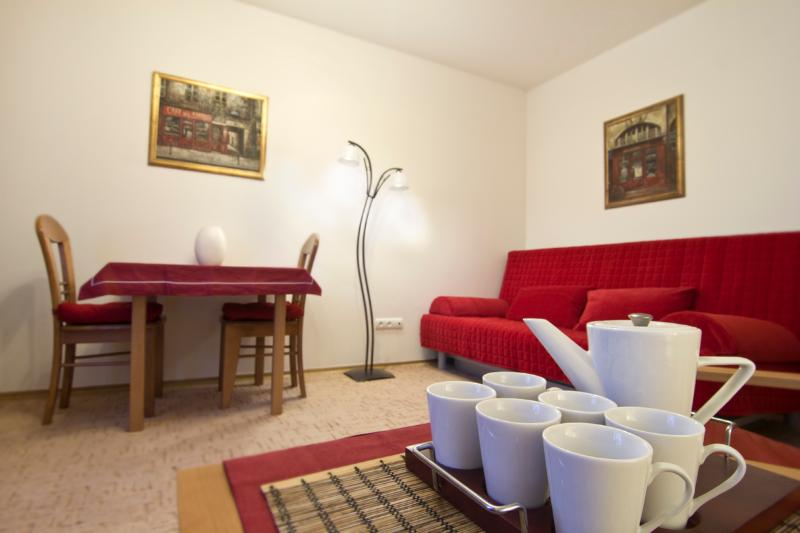 1 BR apartment with AC in the city center. Powisle - Image 1 - Warsaw - rentals
