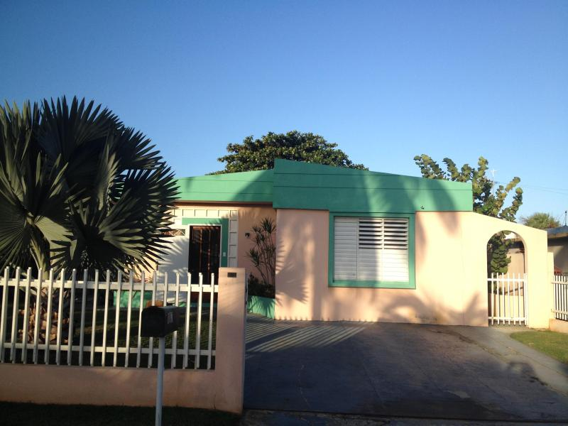 Front view of house - Family Vacation House with Ocean Views - Aguadilla - rentals