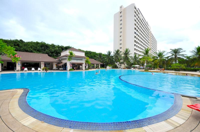 Studio in View Talay 1 condo at the beginning of the Jomtien - Image 1 - Pattaya - rentals