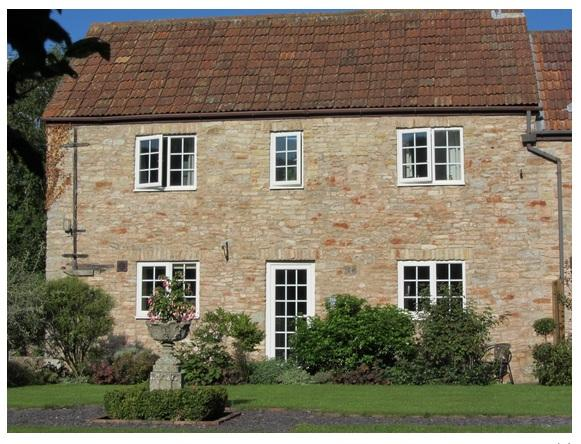 The Barn-sunny, country cottage over looking a beautiful courtyard garden - The Barn-Near Shepton Mallet, Wells, Glastonbury. - Shepton Mallet - rentals