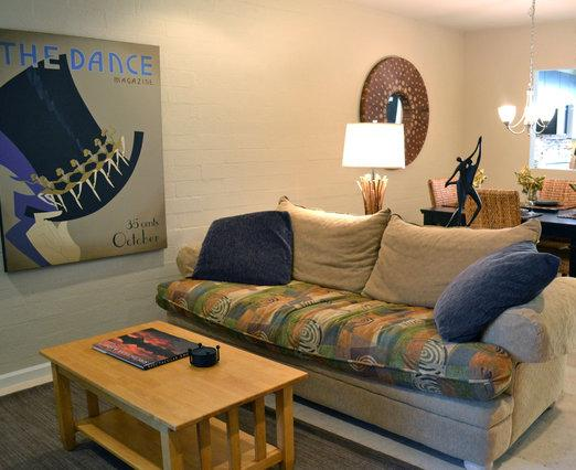 Living Room - The Old Town Scottsdale Condo - Scottsdale - rentals
