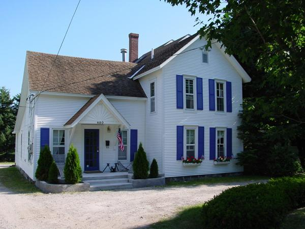 Front of 480 E Main Street - 480 Main St Harbor Springs IN TOWN - Harbor Springs - rentals