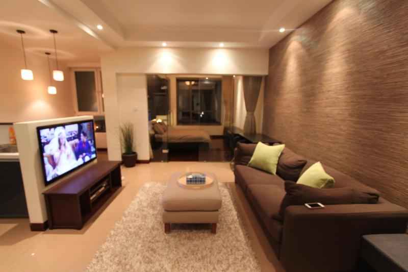 Downtown Cozy Deco 1 Bd Apartment Jing'an FCC - Image 1 - Shanghai Region - rentals