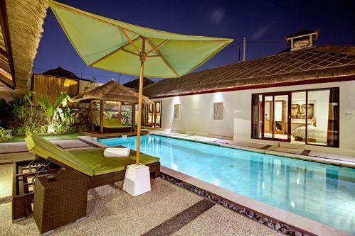 view from the pool - 4BR villa in umalas - Denpasar - rentals