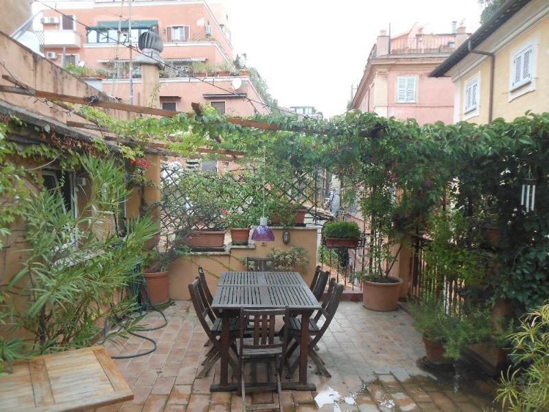 70 sq meter terrace! - Charming 3 bedroom duplex with terrace - Rome - rentals