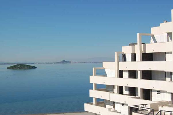 Building and sea view! - Luxury in Paradise-La Manga del Mar Menor seaview! - La Manga del Mar Menor - rentals