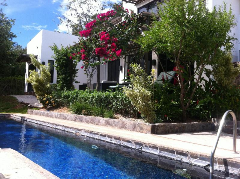 Pool view of house - Villa Blanca - Exclusively at Black Stallion Hills - Tamarindo - rentals