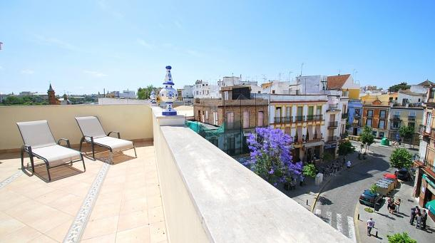 [653] Fantastic apartment with terrace in Triana - Image 1 - Penaflor - rentals