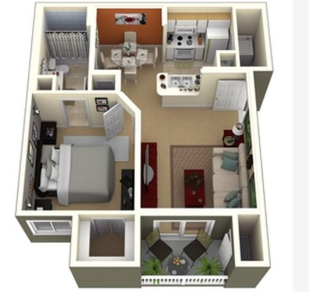 floor plan - Galleria / River Oaks Area - cgw Upper Kirby - Houston - rentals