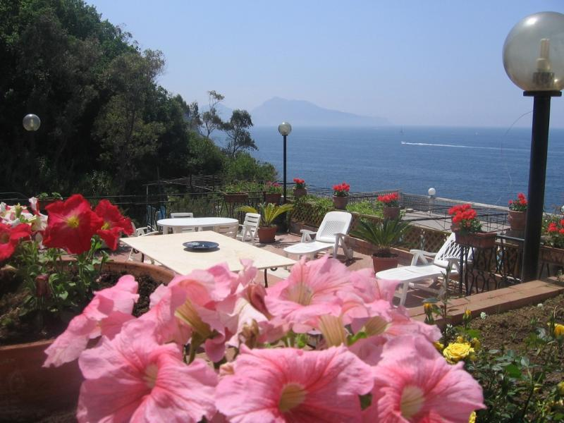 Two story villa with Capri view and pool - V713 - Image 1 - Massa Lubrense - rentals