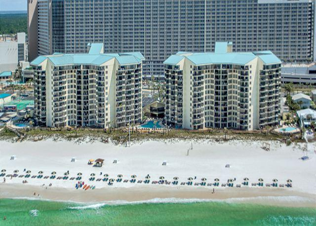 BEACHFRONT ON THE WORLD'S MOST BEAUTIFUL BEACHES! - Cute 7th Floor Condo for 4 with Great Beach Views - Panama City Beach - rentals