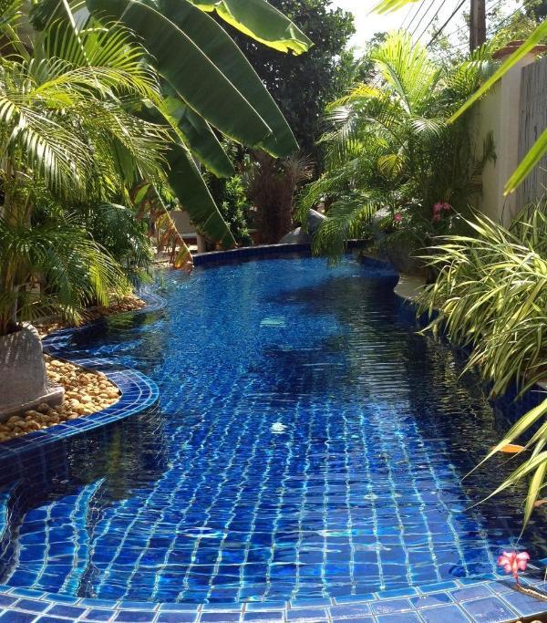 Lagoon style swimming pool - Zenith's  Lagoon B & B - Nai Harn - rentals