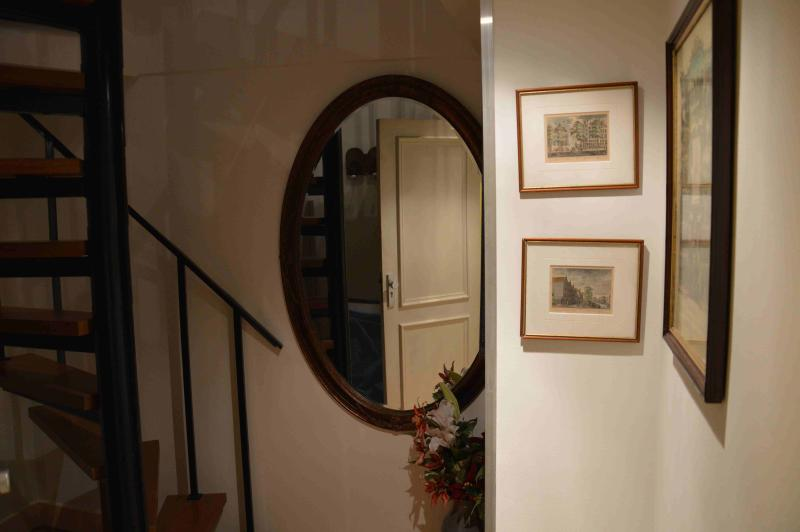 Entrance of the beautiful penthouse - A beautiful apartment in the very heart of The Hag - The Hague - rentals