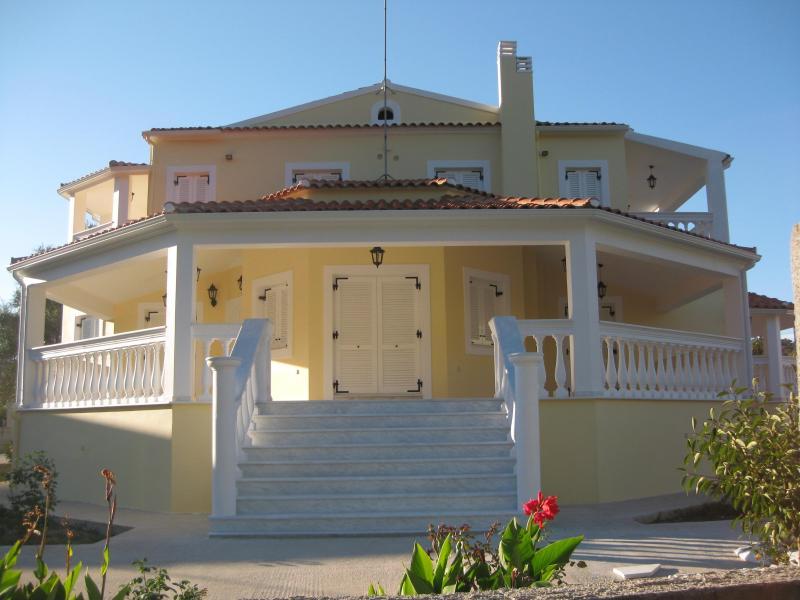 Front of Villa - The Bennett Estate -  A 50 SM (+ 20 SM Balconies) - Sidari - rentals