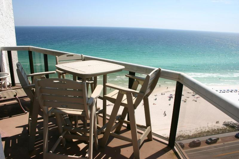 Beautiful balcony views - Surfside 2 beds and 2 baths, corner, end unit - Miramar Beach - rentals