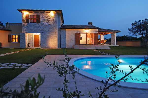CASA TIA - beautiful stone house among olive trees - Image 1 - Jursici - rentals