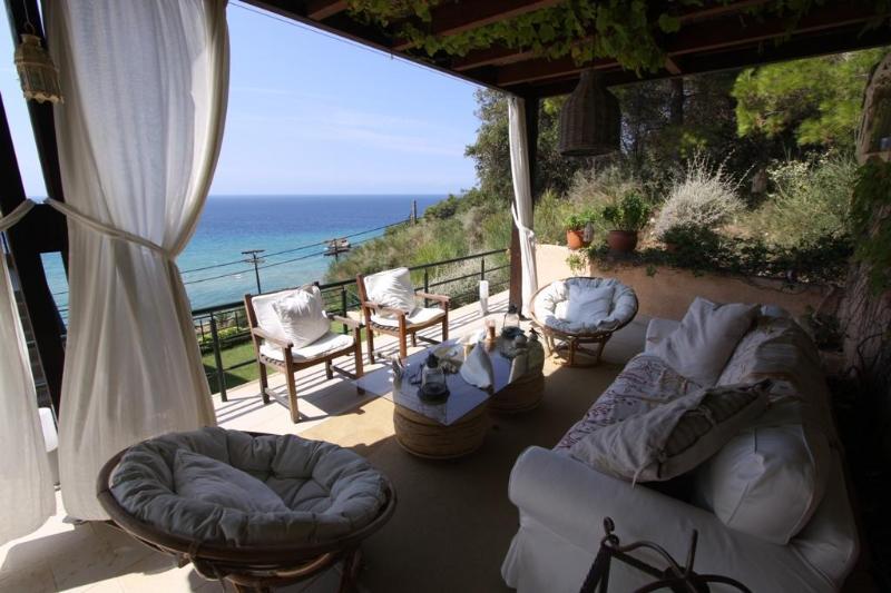 Unique Beach house with Sea View in Glyfada-Corfu - Image 1 - Corfu - rentals