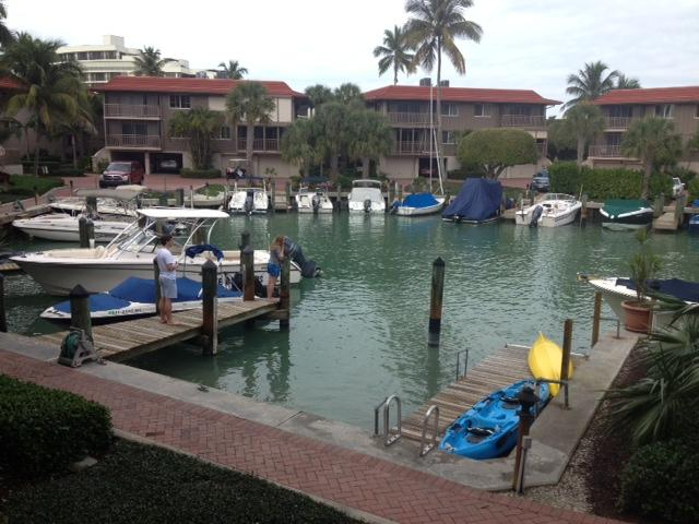 Boat basin view from living room - Naples Florida (Beach & Sun) Monthly Rental - Naples - rentals