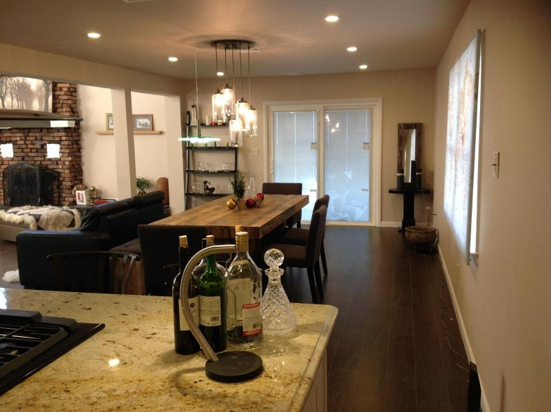 view from kitchen - Modern Man Pad - Ridgefield - rentals