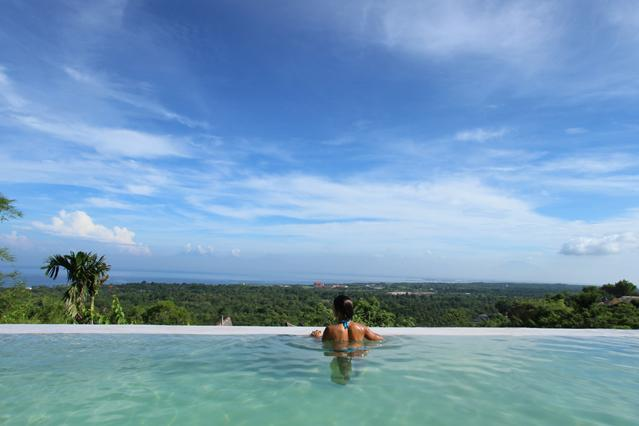 "view from spool - ""Surf Cottage"" uluwatu-padang - Pecatu - rentals"